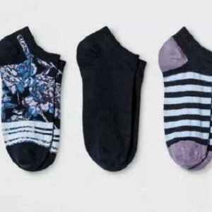 WOMEN'S LOW-CUT SOCKS  COTTON BLEND 3 PR